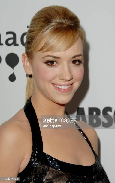 Andrea Bowen during 18th Annual GLAAD Media Awards Arrivals at Kodak Theatre in Hollywood California United States
