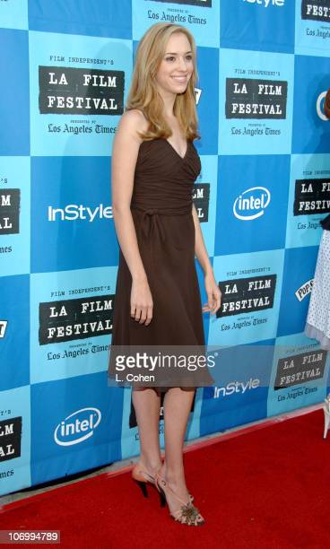 Andrea Bowen during 2006 Los Angeles Film Festival Opening Night The Devil Wears Prada Red Carpet at Mann Villiage Theatre in Westwood California...