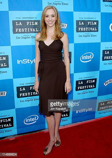 Andrea Bowen during 2006 Los Angeles Film Festival Opening Night The Devil Wears Prada Premiere at Mann Village Theatre in Westwood California United...