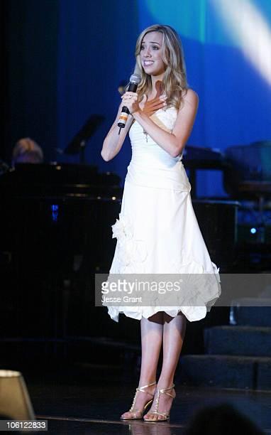 Andrea Bowen during 51st Annual Thalians Ball - Show at Hyatt Regency Century Plaza in Century City, California, United States.