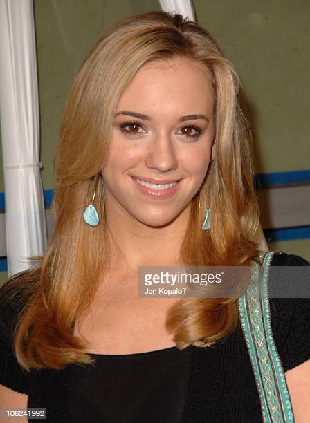 Andrea Bowen during Because I Said So Los Angeles Premiere Arrivals at The Arclight in Hollywood California United States