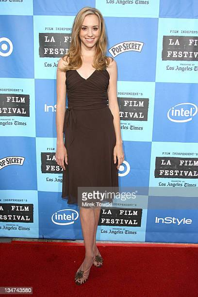 Andrea Bowen during Film Independent's Los Angeles Film Festival Opening Night 'The Devil Wears Prada' at Mann Village Theatre in Westwood California...