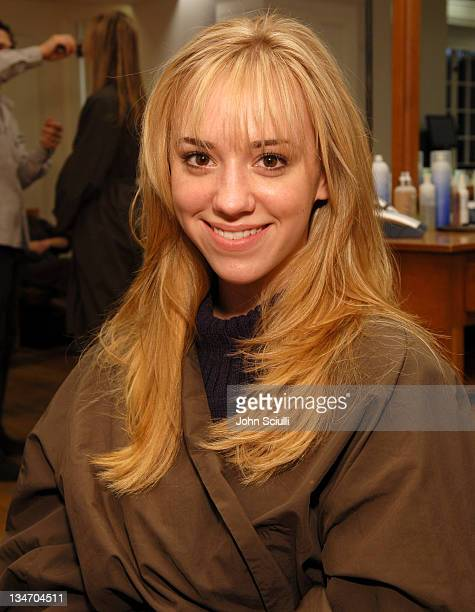 Andrea Bowen during Frederic Fekkai 2007 Red Carpet Beauty Experience Day 1 at Frederic Fekkai Salon in Beverly Hills California United States