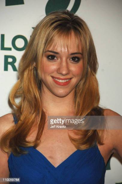 Andrea Bowen during Global Green USA 2007 PreOscar Celebration to Benefit Global Warming Arrivals at The Avalon in Hollywood California United States