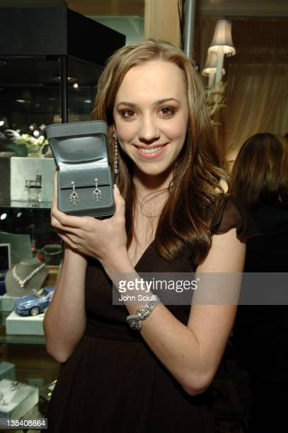 Andrea Bowen during Kwiat/Kodak Oscar Suite Cocktail Party at Four Seasons Wetherly Suite in Beverly Hills CA United States