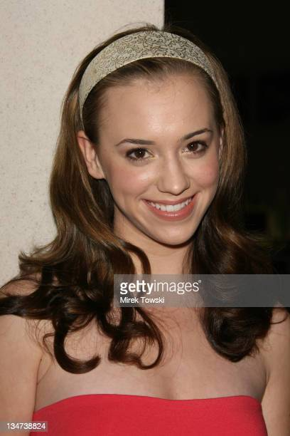 Andrea Bowen during Piaget and Vanity Fair celebrate the publication of Teri Hatcher's book Burnt Toast at AQUA Restaurant and Lounge in Beverly...