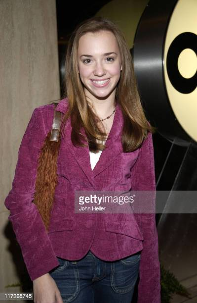 Andrea Bowen during TCA ABC Arrivals at Universal City Hilton in Universal City California United States