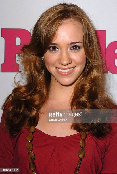 Andrea Bowen during Teen People Celebrates 2nd Annual Young Hollywood Issue Sponsored by EA Games and Baby Phat Arrivals at Cabana Club in Hollywood...