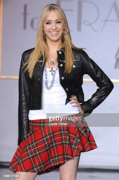 """Andrea Bowen wearing Tommy Hilfiger during 14th Annual Race to Erase MS Themed """"Dance to Erase MS"""" - Show at Hyatt Regency Century Plaza in Century..."""