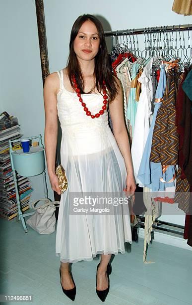 Andrea Brueckner handbag designer during Kyung Lee Celebrates the Openings of her Stores Claudine and Albertine at Claudine and Albertine in New York...