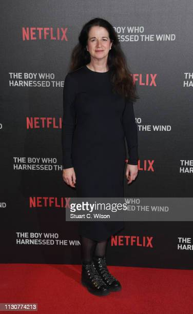 Andrea Calderwood attends the UK Premiere of The Boy Who Harnessed The Wind at Ham Yard Hotel on February 19 2019 in London England