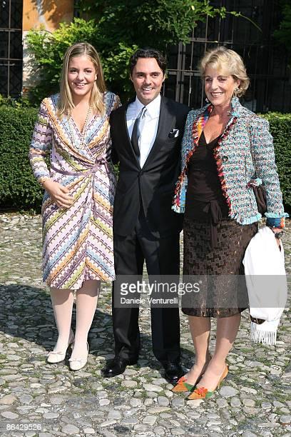 Andrea Camerana and guests