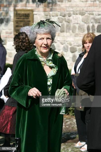 Andrea Camerana during The Wedding of Alexia Aquilani and Andrea Camerana October 9 2005 at Castello di Rivalta in Castello di Rivalta Piacenza Italy