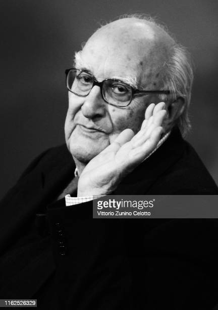 Andrea Camilleri attends 'Che Tempo Che Fa' on May 17 2008 in Milan Andrea Camilleri Author of Montalbano Detective Series Dies at 93 on July 17 2019...