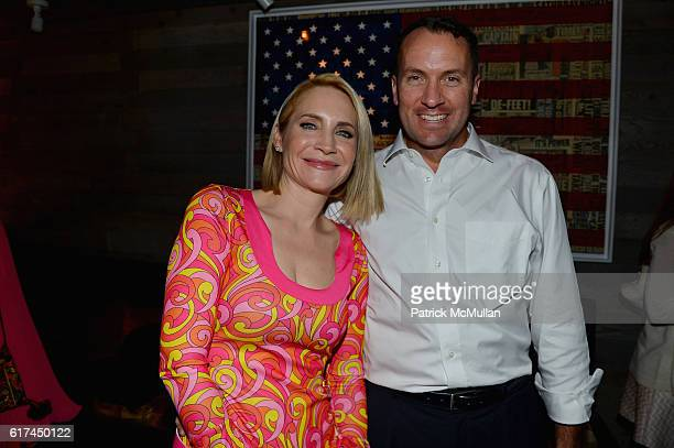 Andrea Canning and Tony Bancroft attend Andrea Greeven Douzet's Birthday Celebration at The Tuck Room on October 19 2016 in New York City