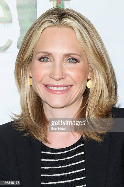 Andrea Canning attends Elf The Musical Holiday Christmas Party Hosted By The Moms at Al Hirschfeld Theatre on November 13 2012 in New York City