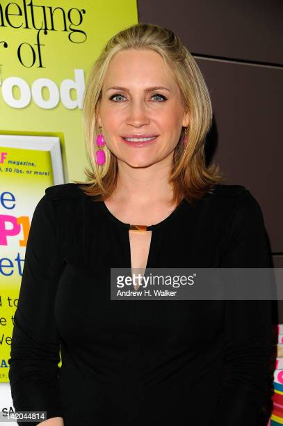 Andrea Canning attends SELF Magazine Celebrates The Release Of Lucy Danziger's New Book The Drop 10 Diet at The Standard on March 28 2012 in New York...