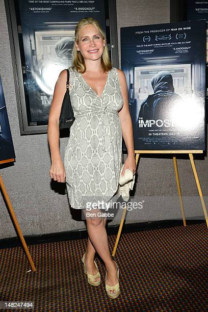 Andrea Canning attends The Imposter New York Premiere on July 12 2012 in New York United States