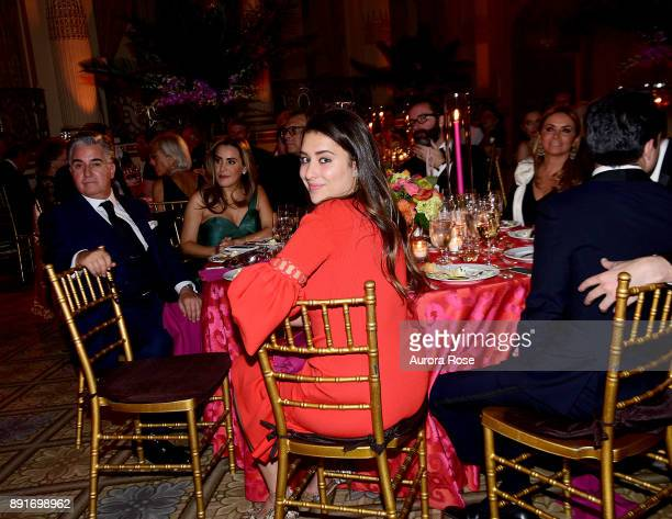 Andrea Casanova attends Casita's Fiesta 2017 at The Plaza Hotel on October 17 2017 in New York City