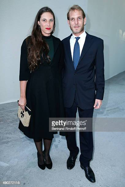 Andrea Casiraghi and his wife Tatiana Santo Domingo attend 'The strange city' Exhibition by Ilya and Emilia Kabakov at Monumenta 2014 Dinner to...