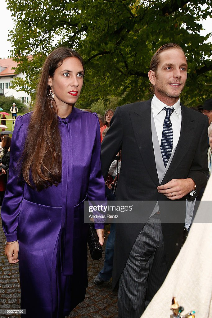 Wedding Of Maria Theresia Princess von Thurn und Taxis And Hugo Wilson : News Photo