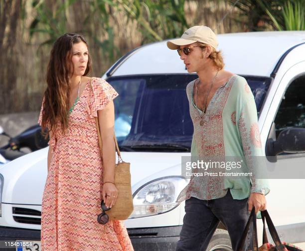 Andrea Casiraghi and Tatiana Santodomingo are seen sighting on June 6 2011 in Ibiza Spain