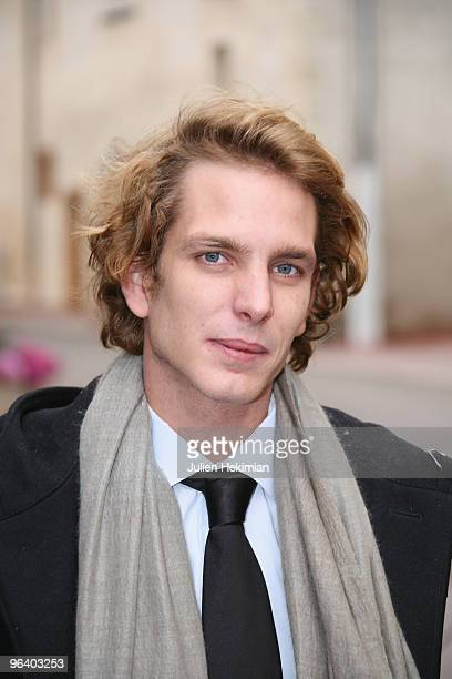 Andrea Casiraghi attends the annual wine auction at Hospices de Beaune on November 15 2009 in Beaune France