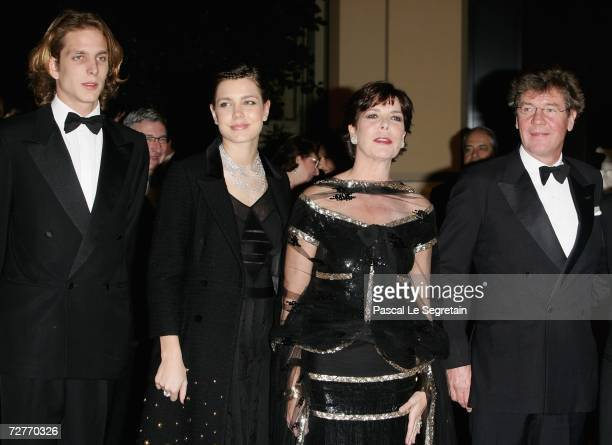 Andrea Casiraghi Charlotte Casiraghi Princess Caroline of Hanover and husband Prince Ernst August of Hanover attend the the 4th biennial Nijinsky...