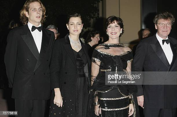 Andrea Casiraghi Charlotte Casiraghi Princess Caroline of Monaco and Prince Ersnt August of Hanover attend the 4th biennial Nijinsky Awards hosted by...