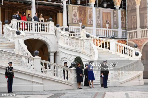 Andrea CasiraghiTatiana Casiraghi Charlotte Casiraghi Pierre Casiraghi Beatrice CasiraghiPrincess Stephanie of Monaco Princess Charlene of Monaco and...