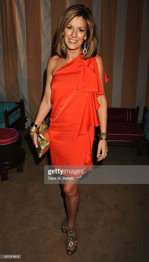 Andrea Catherwood attends the afterparty following the UK film premiere of 'Sex and the City 2' at The Kensington Palace on May 27, 2010 in London, England.