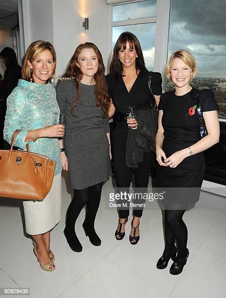 Andrea Catherwood Sam Baker Andrea McLean and Joanna Page attend the Red's Hot Women Awards in association with euphoria Calvin Klein at Altitude 360...