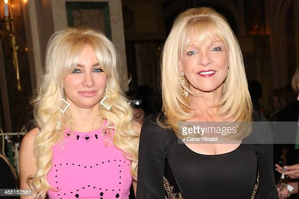 Andrea Catsimatidis and Margo Catsimatidis attend the Police Athletic League's 25th Annual Women of the Year Luncheon at The Plaza Hotel on December...