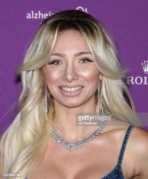 Andrea Catsimatidis attends the 35th Annual Alzheimer's Association Rita Hayworth Gala at Cipriani 42nd Street on October 23 2018 in New York City