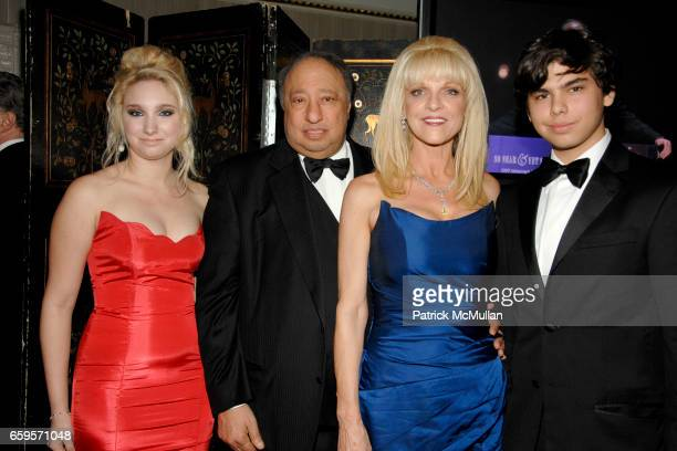 Andrea Catsimatidis John Catsimatidis Margo Catsimatidis and John Catsimatidis Jr attend The 2009 ALZHEIMER's ASSOCIATION RITA HAYWORTH GALA Themed...