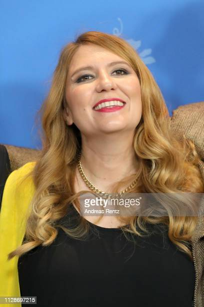 Andrea Chalupa poses at the Mr Jones photocall during the 69th Berlinale International Film Festival Berlin at Grand Hyatt Hotel on February 10 2019...