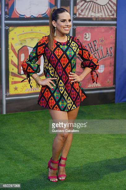 Andrea Chediak attends the Premios Juventud 2014 at The BankUnited Center on July 17 2014 in Coral Gables Florida