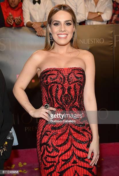 Andrea Chediak attends Univision's 28th Edition of Premio Lo Nuestro A La Musica Latina on February 18 2016 in Miami Florida