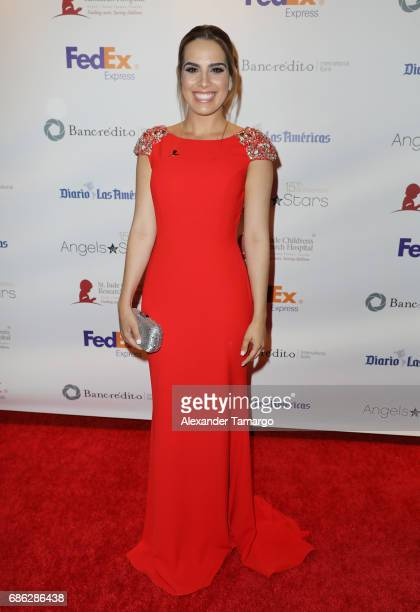 Andrea Chediak is seen arriving at St Jude Gala on May 20 2017 in Miami Florida
