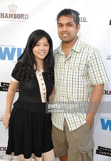 Andrea Chung and Davin Singh attend the Women in Film Screening of The Duchess at Paramount Studios on September 17 2008 in Los Angeles California
