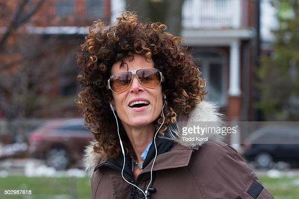 Andrea Constand leaving her home in Toronto Ontario Constand accused Cosby of sexual assault in 2005 a year after the incident allegedly occurred at...