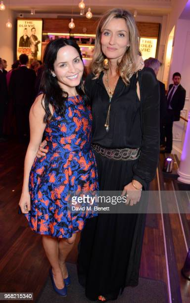 Andrea Corr and Natascha McElhone attend The Old Vic Bicentenary Ball to celebrate the theatre's 200th birthday at The Old Vic Theatre on May 13 2018...
