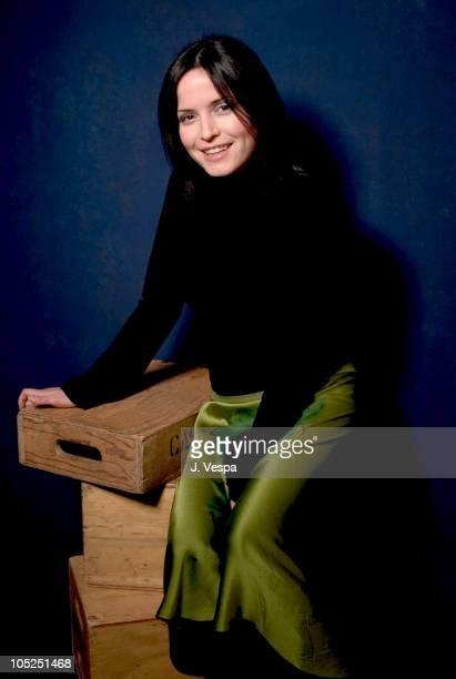 Andrea Corr during 2004 Sundance Film Festival Andrea Corr Portraits at HP Portrait Studio in Park City Utah United States