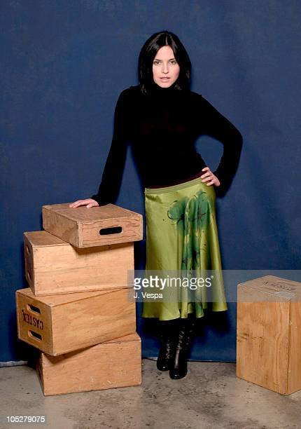 Andrea Corr during 2004 Sundance Film Festival Andrea Corr Portraits at HP Portrait Studio in Park City Utah United States