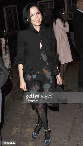 Andrea Corr during Fiat Punto Launch Party January 19 2006 at The Old Truman Brewery in London Great Britain