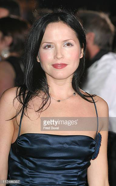 Andrea Corr during London Fashion Week Spring/Summer 2007 Emporio Armani One Night Only Arrivals at Earls Court in London Great Britain