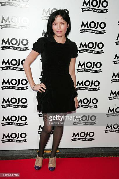 Andrea Corr during MOJO Honours List 2007 Arrivals at The Brewery in London Great Britain