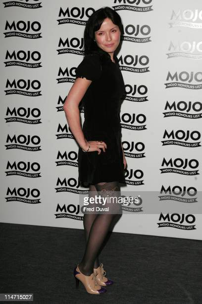 Andrea Corr during MOJO Honours List 2007 Press Room at The Brewery in London Great Britain