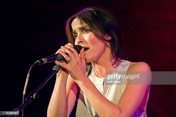 Andrea Corr performs on stage at the Union Chapel on June 2 2011 in London United Kingdom