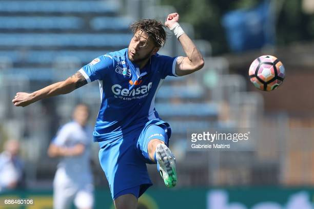 Andrea Costa of Empoli FC in action during the Serie A match between Empoli FC and Atalanta BC at Stadio Carlo Castellani on May 21 2017 in Empoli...